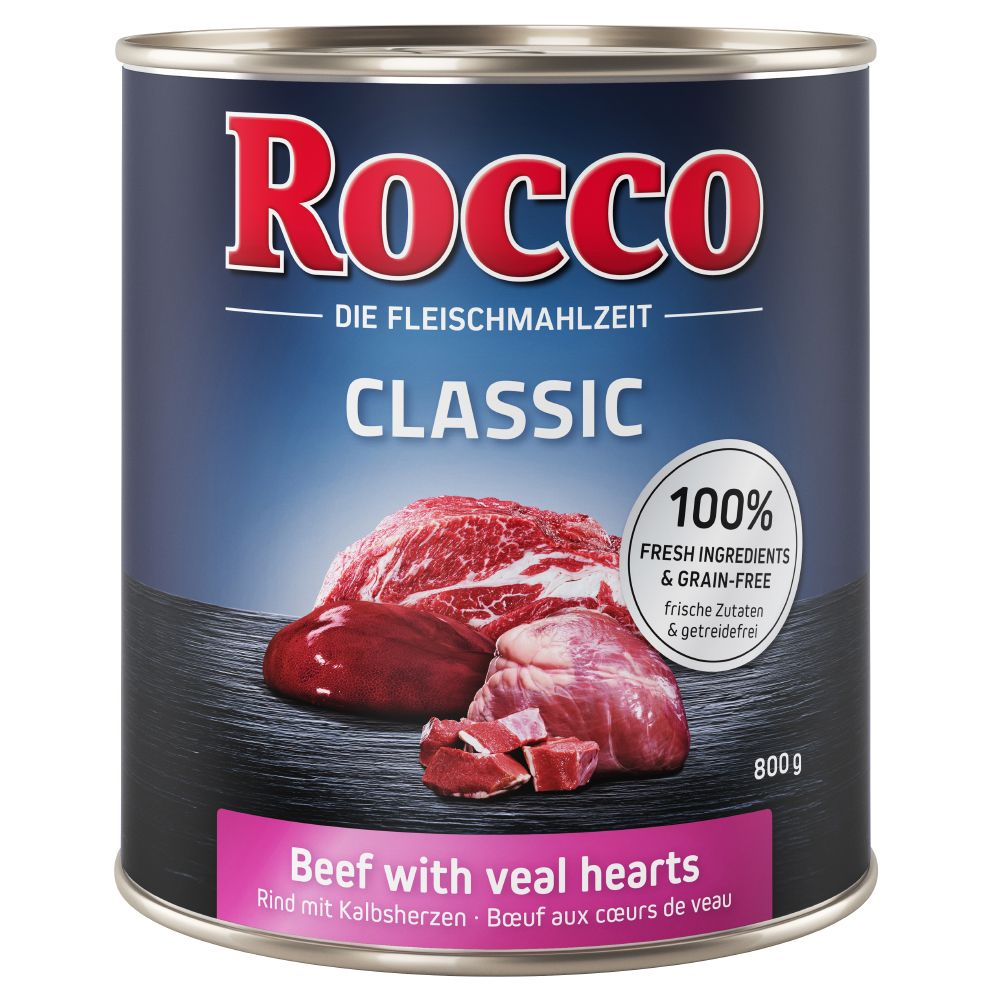 Classic Beef with Game Rocco Wet Dog Food