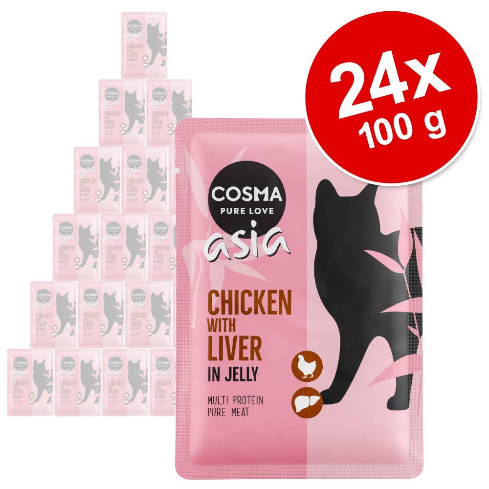 Varčno pakiranje: Cosma Thai/Asia vrečke 24 x 100 g - Miks (6 sort)