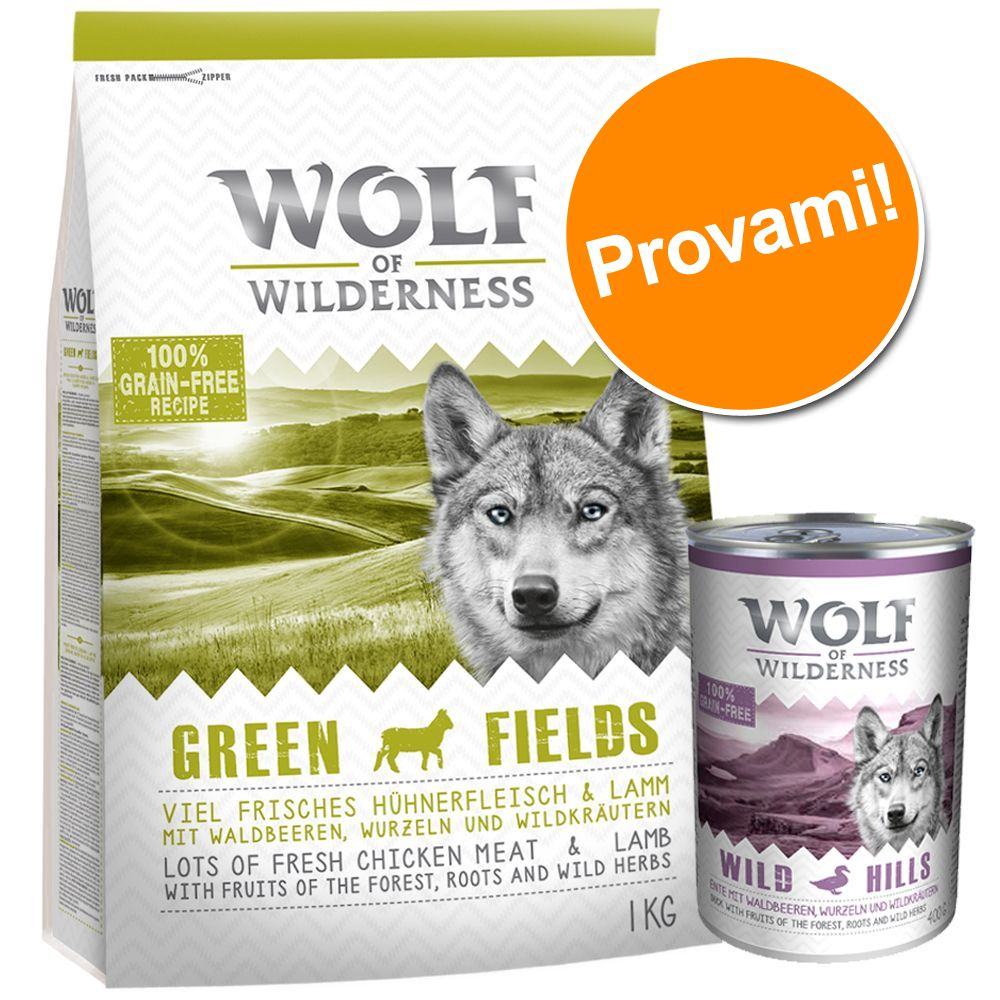 Image of Set prova misto Wolf of Wilderness Adult - Oak Woods - Cinghiale