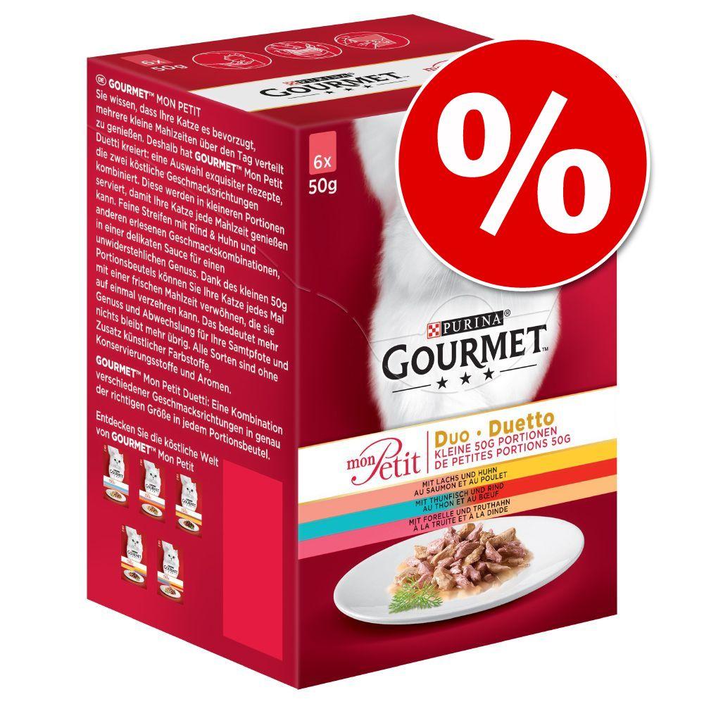 20 % rabatt! 6 x 50 Gourmet Mon Petit - Duetti Kött (6 x 50 g)