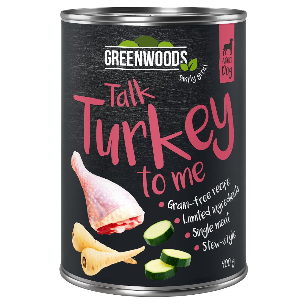 Greenwoods Adult Saver Pack 24 x 400g - Turkey with Parsnip & Courgette