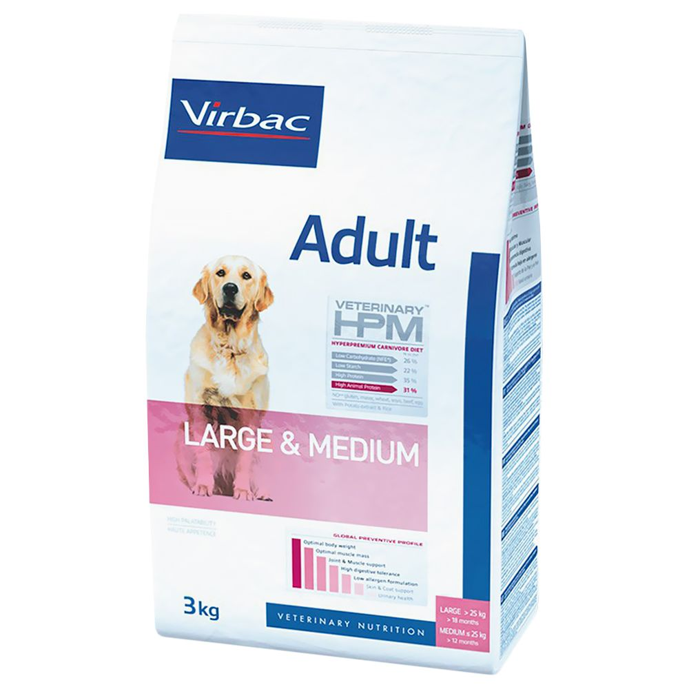 Chien Croquettes Virbac Veterinary HPM Adulte