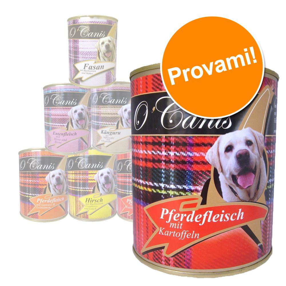 Foto O'Canis Pacco misto - 6 x 800 g O'Canis Dog