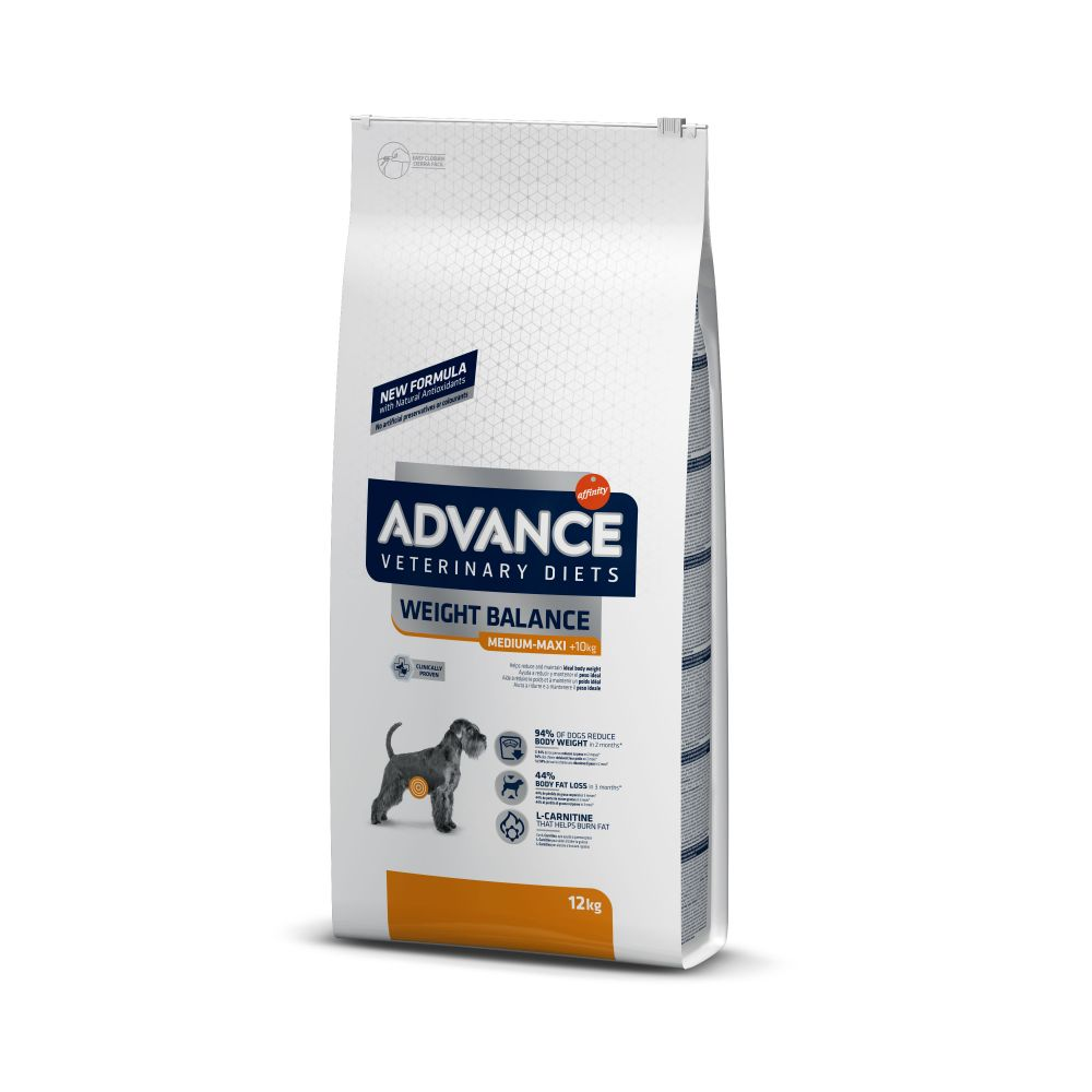 Bilde av Advance Veterinary Diets Weight Balance Medium/maxi - 15 Kg