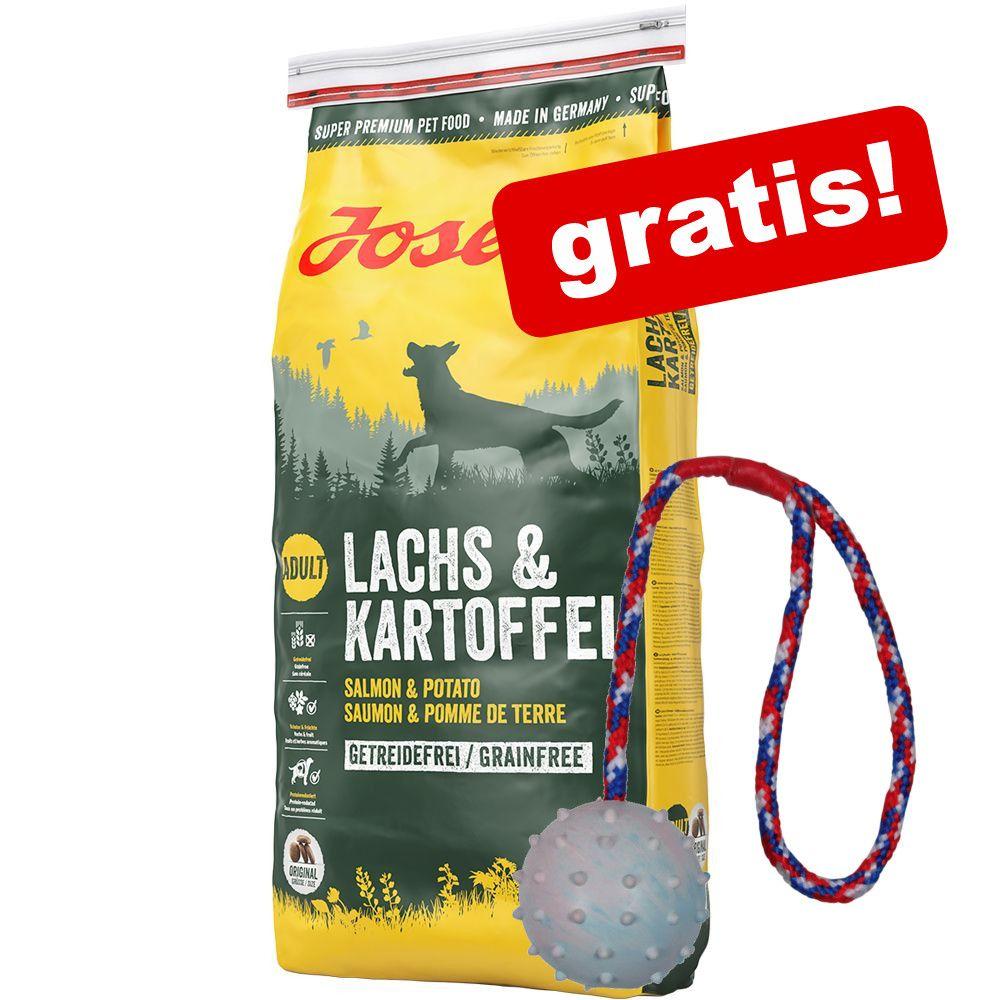 Josera 15 kg + Trixie gummiboll med kastsnöre på köpet! - Josera Light & Vital