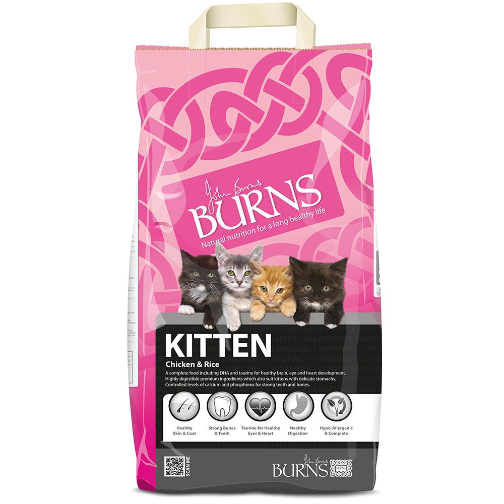 Burns Original Kitten Chicken & Brown Rice
