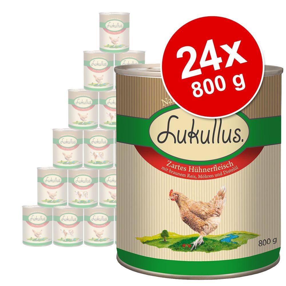 Gemischtes Sparpaket Lukullus Sommer-Menü - 24 x 800 g