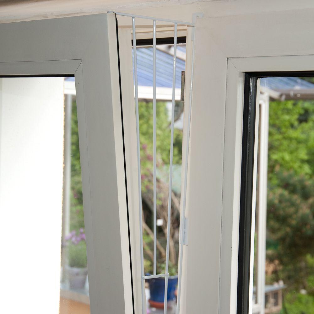 Trixie skyddsnät i vitt för pivotfönster - Format 2: Ovan- eller underdel av fönstret