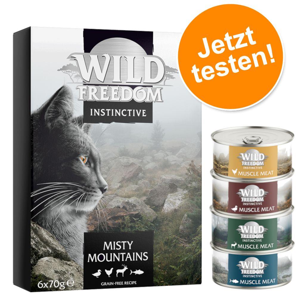 Wild Freedom Adult Dose 6 x 70 g  - NEU: Misty Mountains gemischtes Paket
