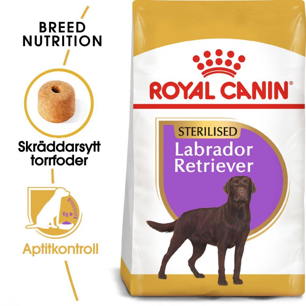 Royal Canin Sterilised Labrador Retriever Adult - Ekonomipack: 2 x 12 kg