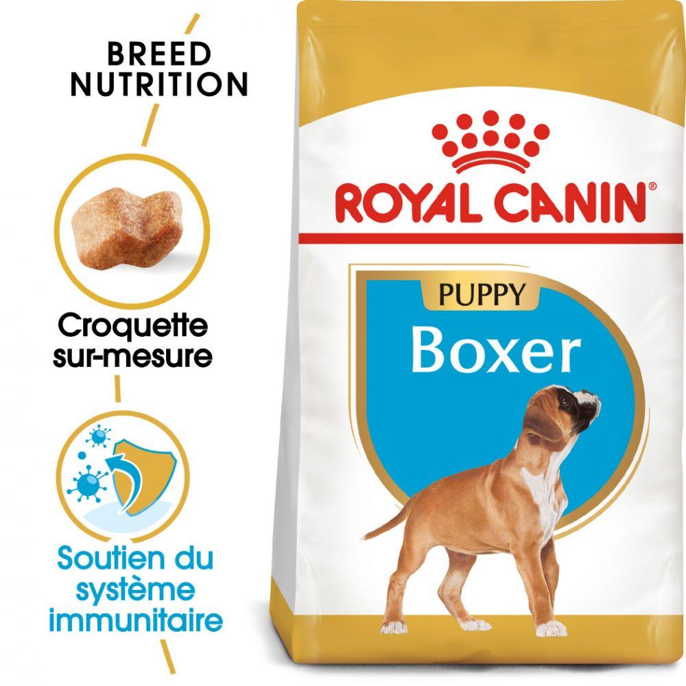 2x12kg Boxer Puppy Chiot Royal Canin - Croquettes pour chien