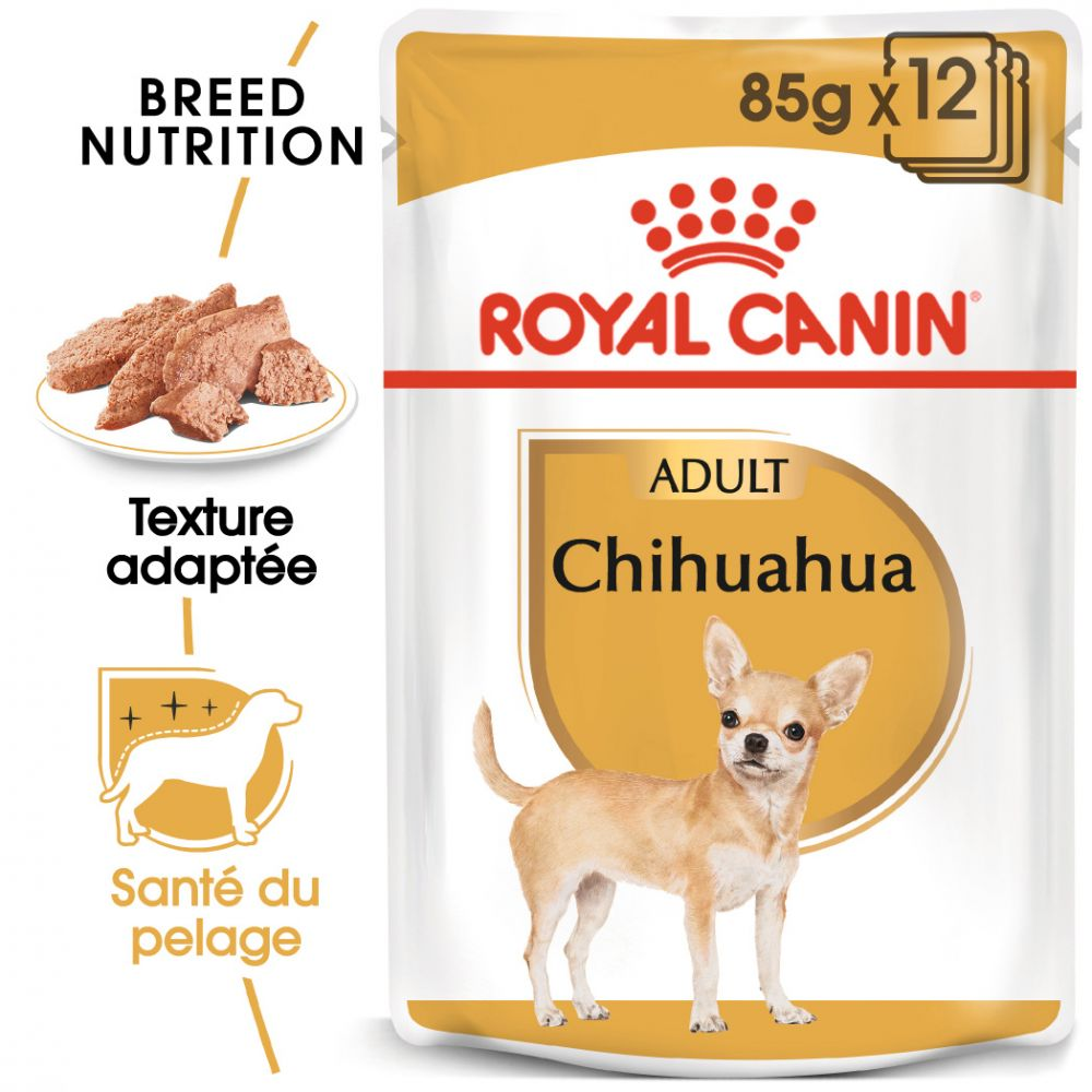 12x85g Chihuahua Royal Canin Breed - Sachet pour chien
