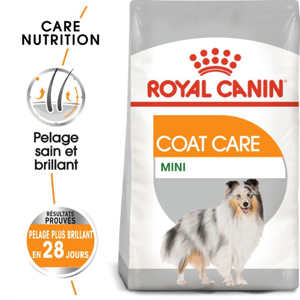 Royal Canin Mini Coat Care pour chien - 2 x 8 kg