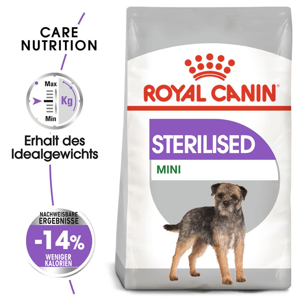 Royal Canin CCN Sterilised Mini - 8 kg