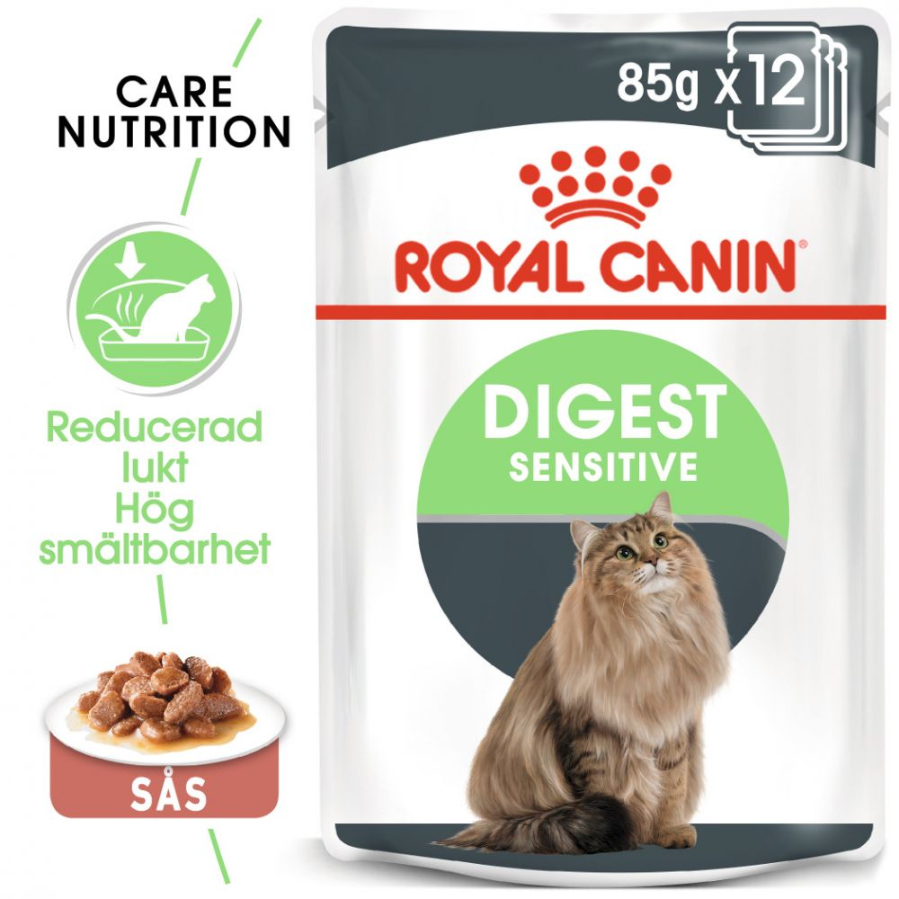 Royal Canin Digest Sensitive i sås 12 x 85 g