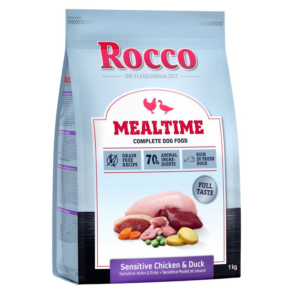 5x1kg Rocco Mealtime Sensitive poulet, canard - Croquettes pour chien