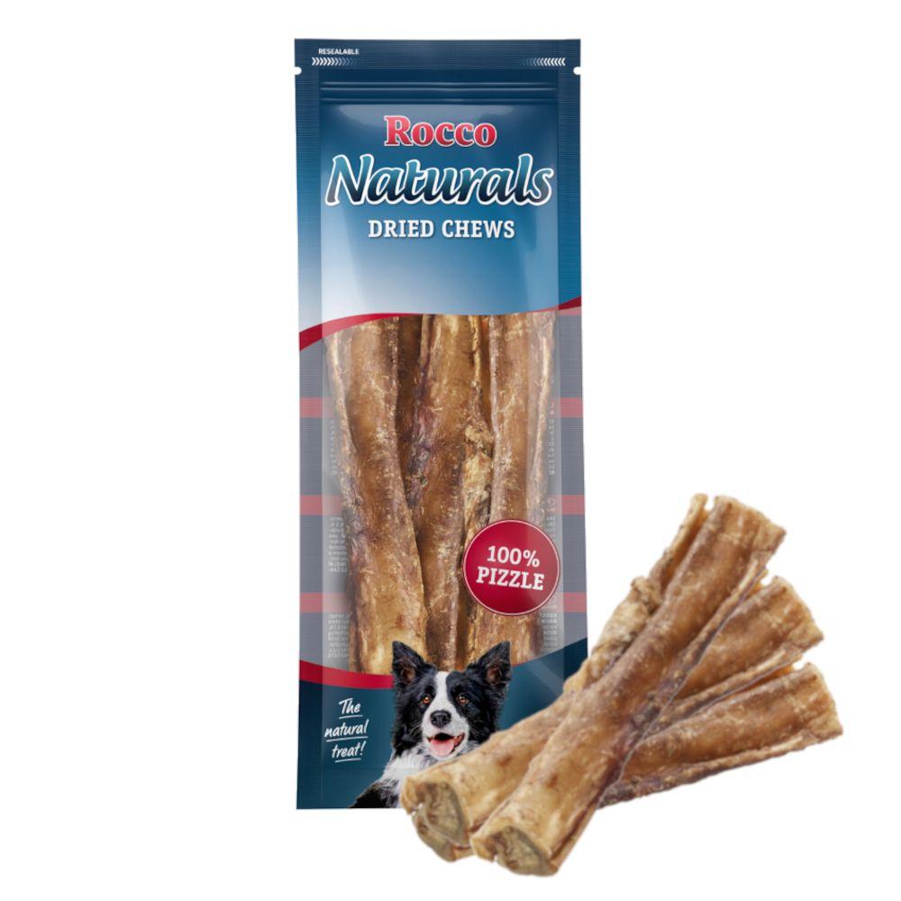 Rocco Naturals snacks de nervo de boi para cães - 5 unidades
