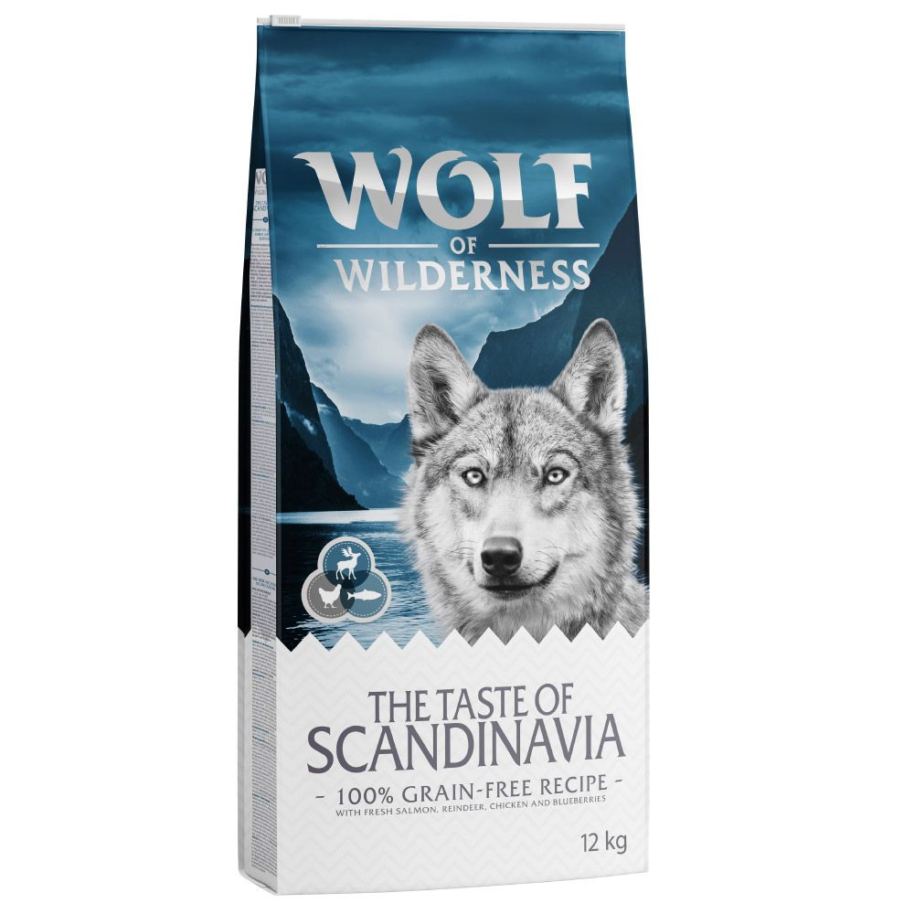 Salmon Taste of Scandanavia Wolf of Wilderness Dry Dog Food