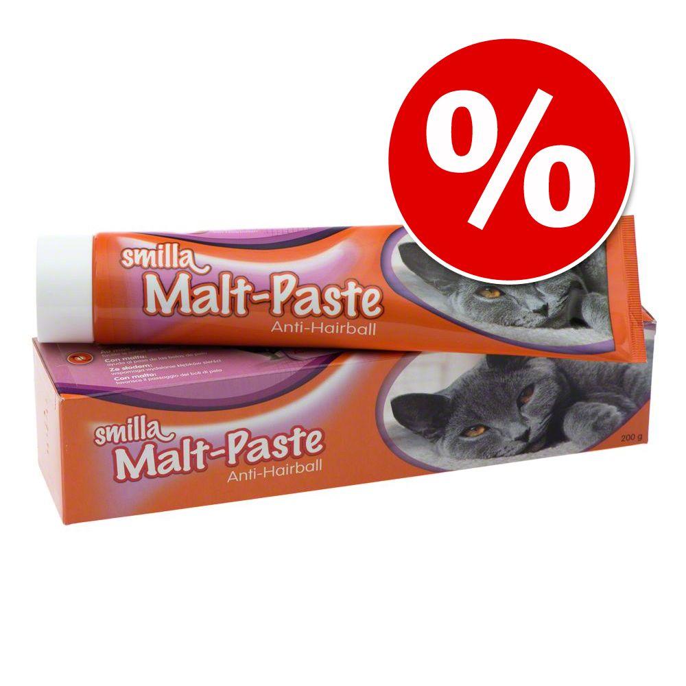 Ekonomipack: 3 tuber Smilla kattpastej till lågt pris! - Multi-Vitamin kattpastej (3 x 200 g)