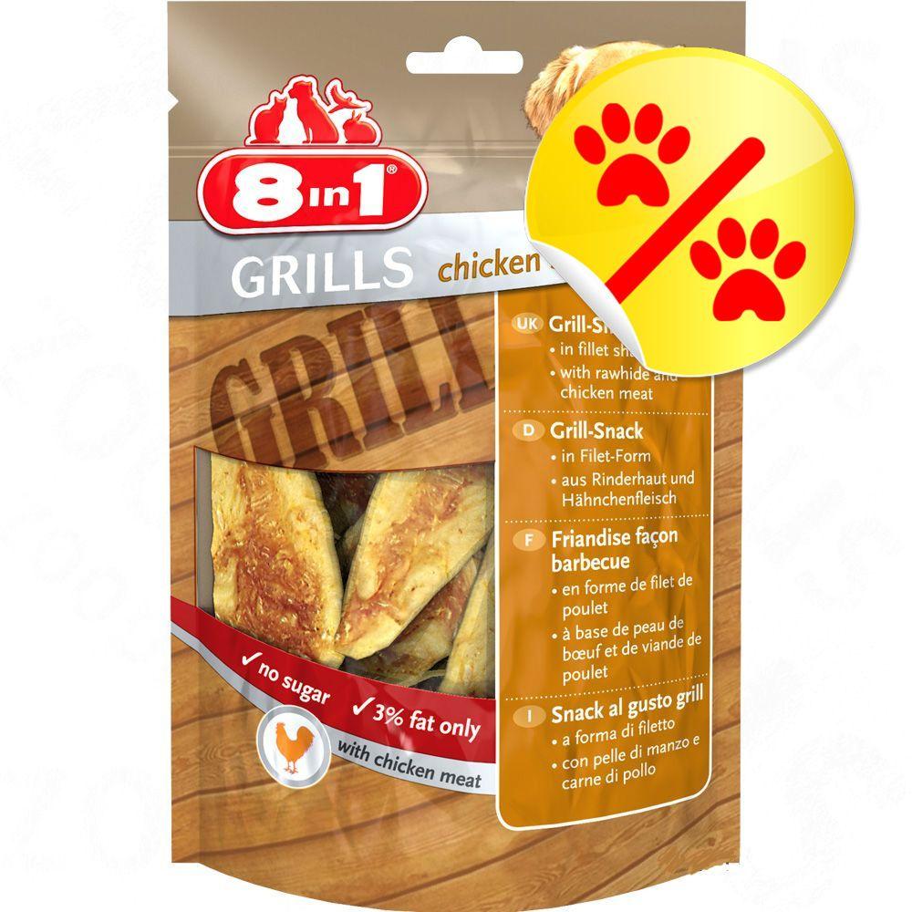 Image of Sparpaket 8in1 Delights Grills Chicken - 3 x 80 g