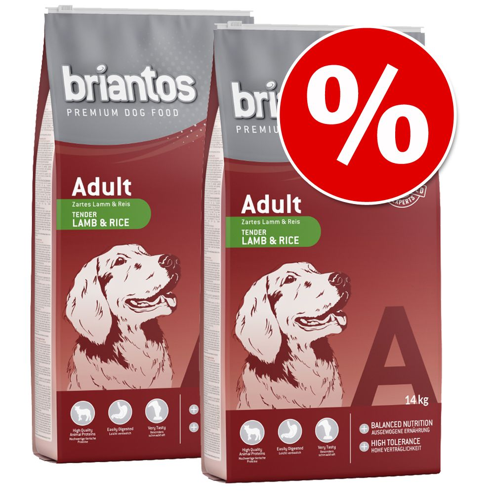 Foto Set risparmio! Briantos - Adult Active (2 x 14 kg)