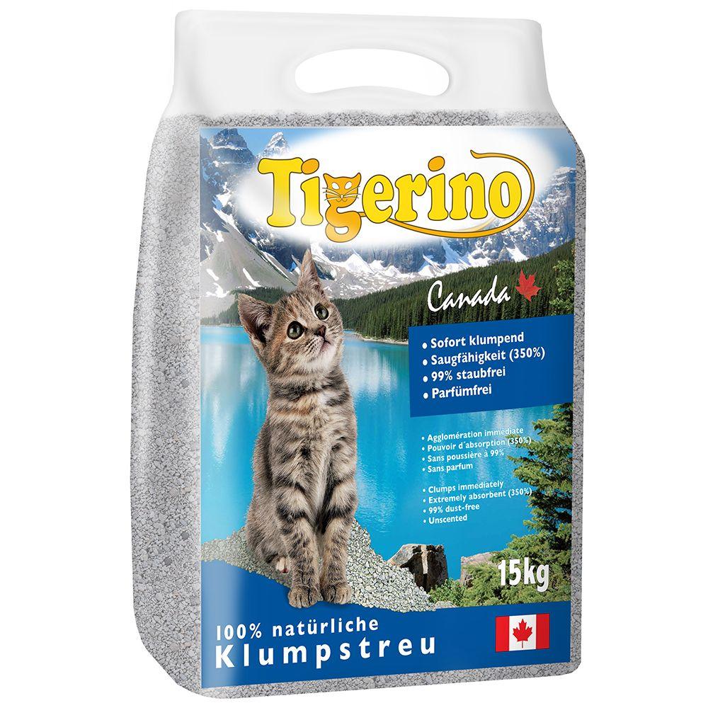 Foto Lettiera Tigerino Canada - senza profumo - 2 x 15 kg - prezzo top!