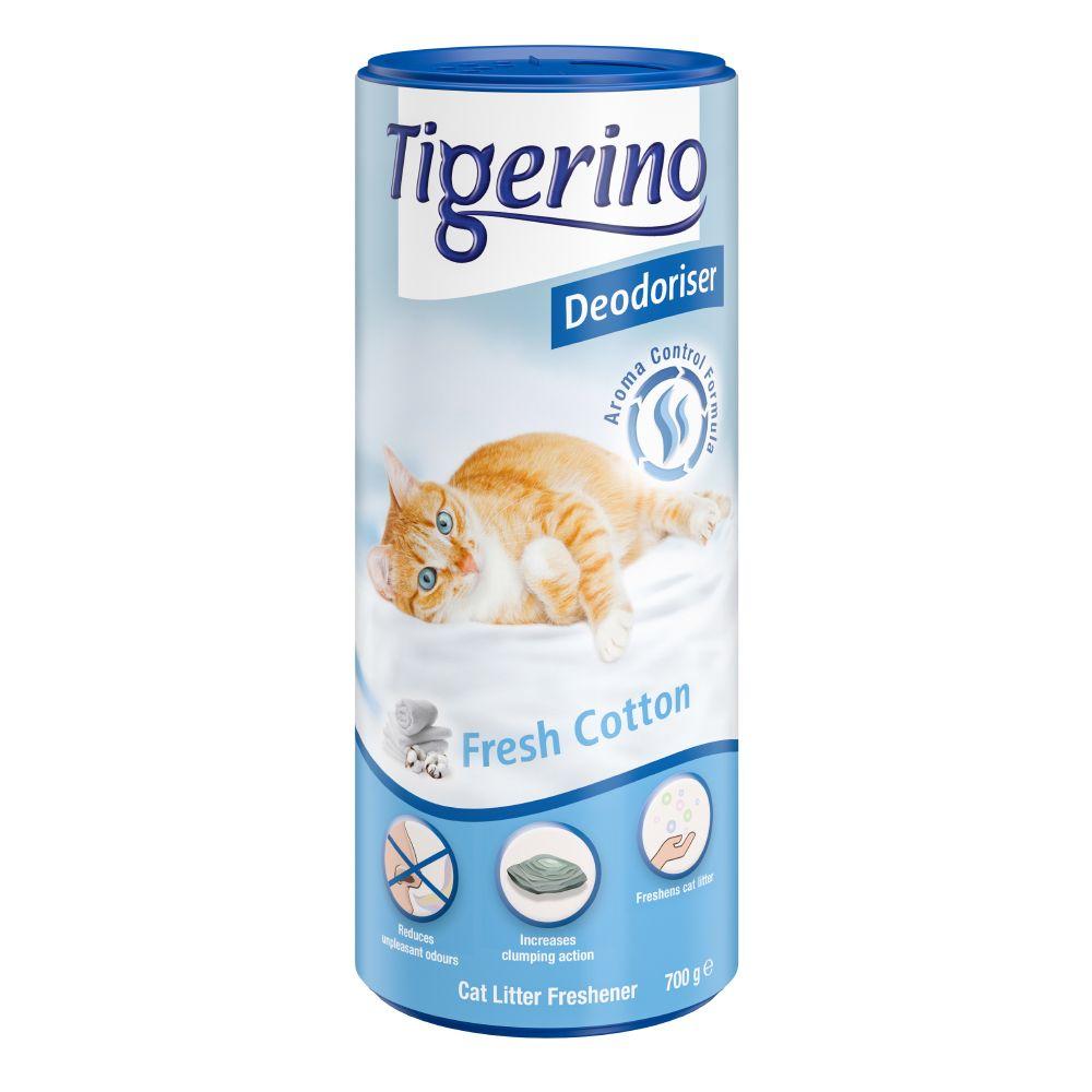 Image of Deodorante per lettiera Tigerino Deodoriser Fresh Cotton -  700 g