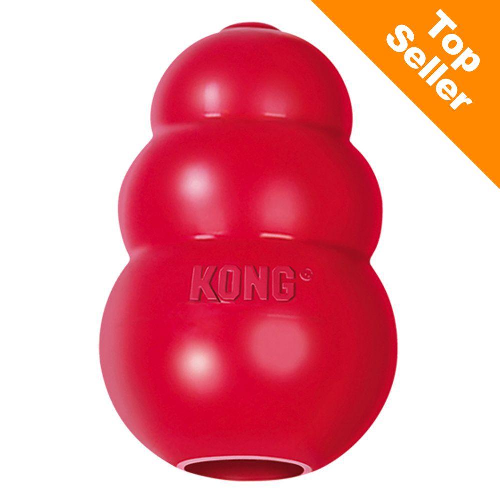 KONG Classic, röd - XL (13 cm)