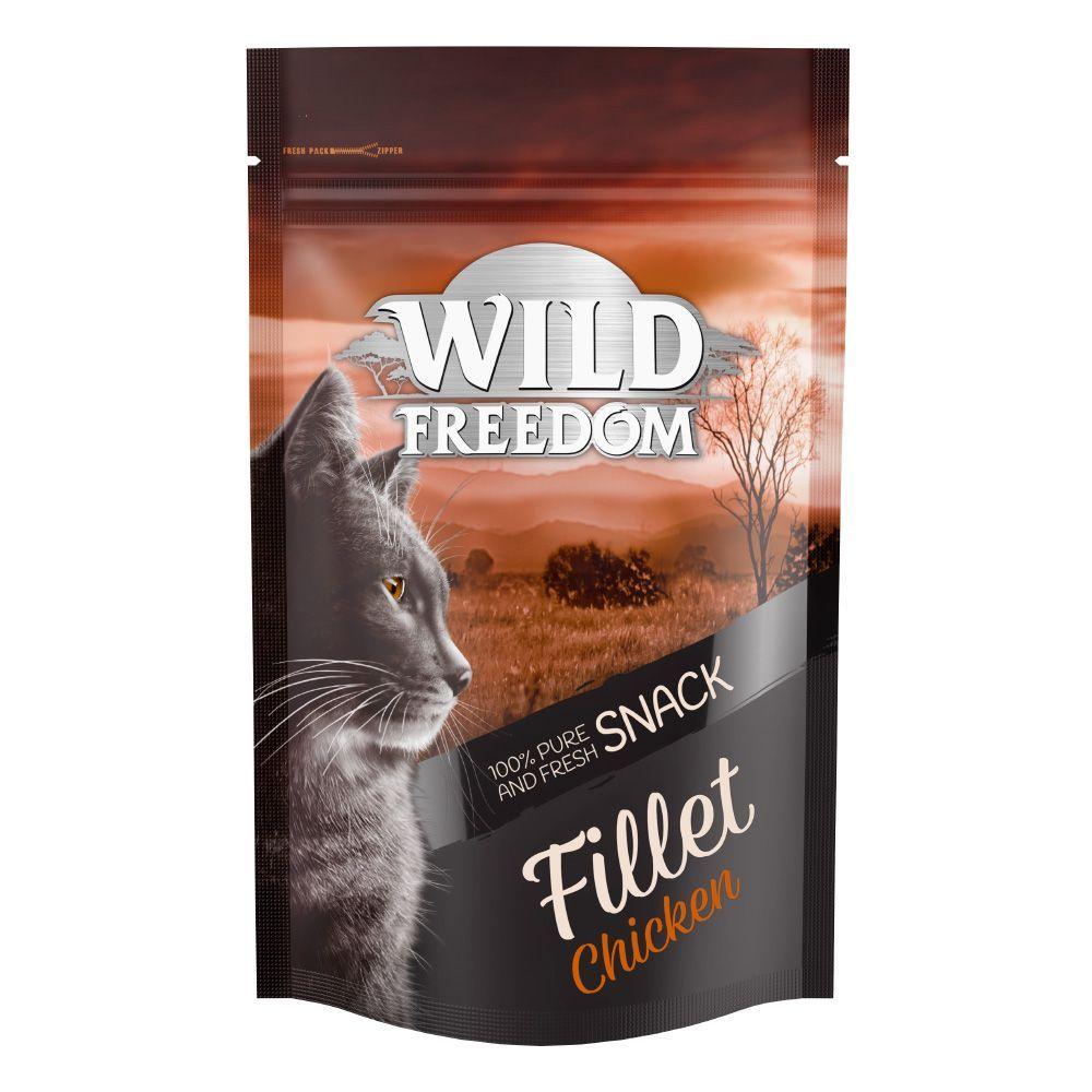 2x100g Chicken Fillet Wild Freedom Cat Snacks