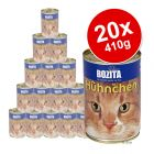 Choose your cat´s favourite flavour and start saving! This Bozita Economy Pack contains 20 x 410g of a single flavour. Bozita canned cat food contains a...