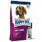 Happy Dog Supreme Young Maxi Junior is a complete feed for young large-breed dogs from 6 to 18 months of age (Phase 2). Too fast growth is a common problem in this...