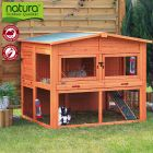 The practical Trixie Natura XL Small Pet Hutch with opening roof and large run is a weather-proof lodge for your rabbit and small pets. The spacious sleeping area ...