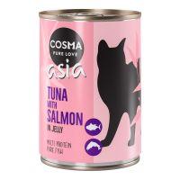 Image of Cosma Thai/Asia in Jelly 6 x 400 g - Huhn & Thunfisch