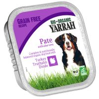 Yarrah Organic  6 x 150g - Saver Pack: 24 x Turkey with Aloe Vera