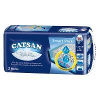 3 x 2 pakken Catsan Smart Pack Kattenbakvulling