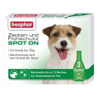 Beaphar Zecken- und Flohschutz Spot-On - 3 x 1 ml, bis 15 kg Preisvergleich