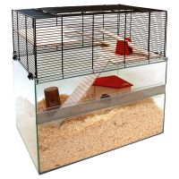 Falco Small Pet Cage - 100 x 50 x 75 cm (L x W x H)