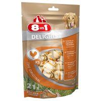 8in1 Delights Chew Bones - Chicken - L (1 Bone)