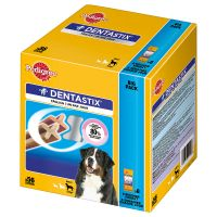 2 Months Bundle - 56 x Pedigree Dentastix + 18 x Pedigree Dentaflex - 15% Off!* - Small Dogs (56 Dentastix + 18 x 40g Dentaflex)