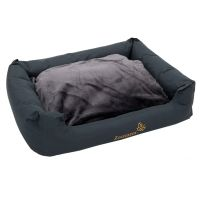 Sleepy Time Dog Bed - Grey - 100 x 75 x 30 cm (L x W x H)