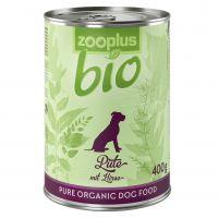 zooplus Bio Organic Turkey with Millet - 6 x 400g