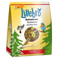 Lillebro Dried Mealworms - Saver Pack: 2 x 500g