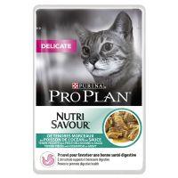 6 x 85 g Pro Plan Delicate Kalkoen Kattenvoer