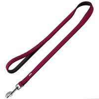 Hunter Softie Dog Lead - Raspberry - 110cm