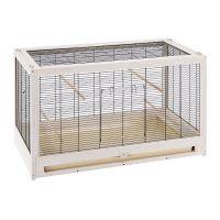Bianca Bird Cage - 100 x 52.5 x 61.5 cm (L x W x H)
