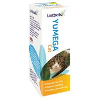 Lintbells YuMEGA Cat Supplement - Saver Pack: 2 x 50ml
