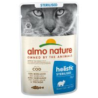 Image of 20 + 4 gratis! 24 x 70 g Almo Nature Holistic - Anti Hairball: Huhn