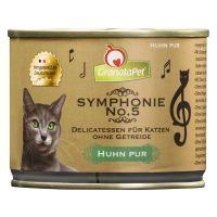 GranataPet Symfonie Kattenvoer 6 x 200 g Kip puur