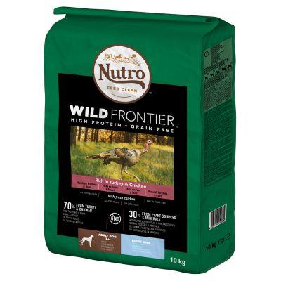 Nutro Wild Frontier Hund Adult Large Truthahn & Huhn