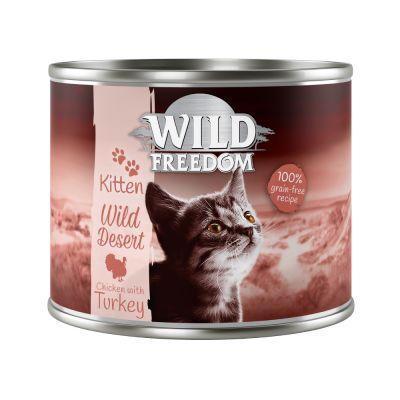 "Wild Freedom Kitten ""Wild Desert"" - Kalkoen & Kip"